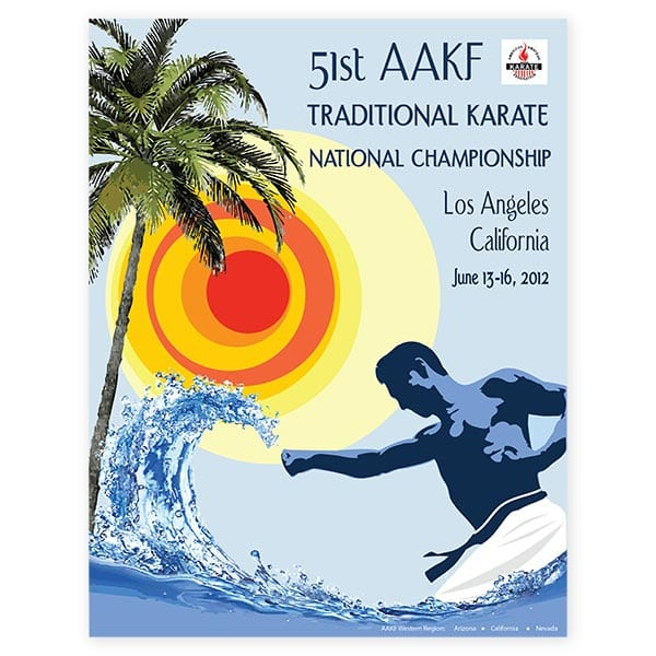 AAKF National Championships Program Cover